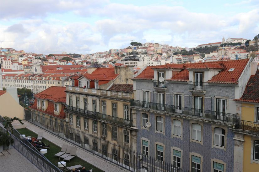L'ascenseur de Santa Justa Lisbonne