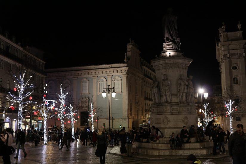 Praça Luís de Camões Lisbonne