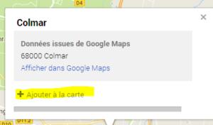Créer un itinéraire Google map Off-line