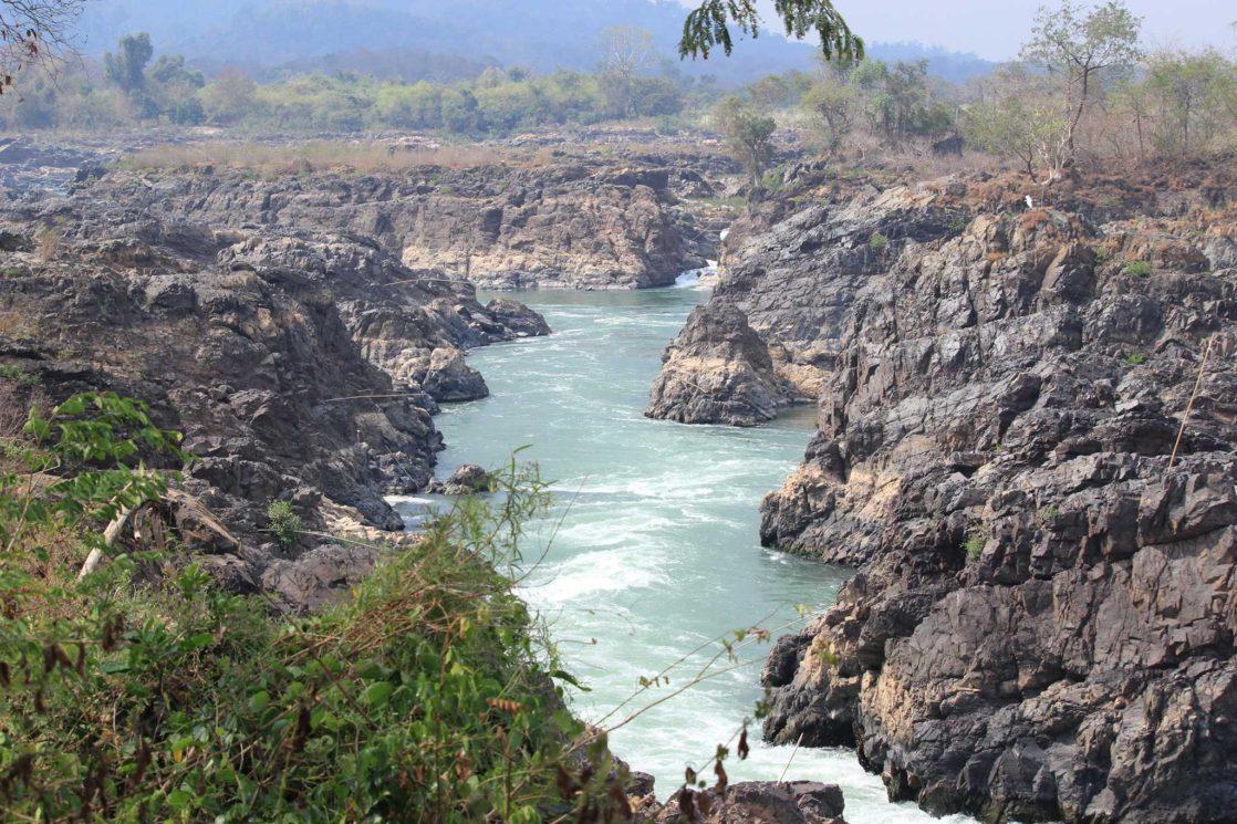 Li Phi Waterfalls