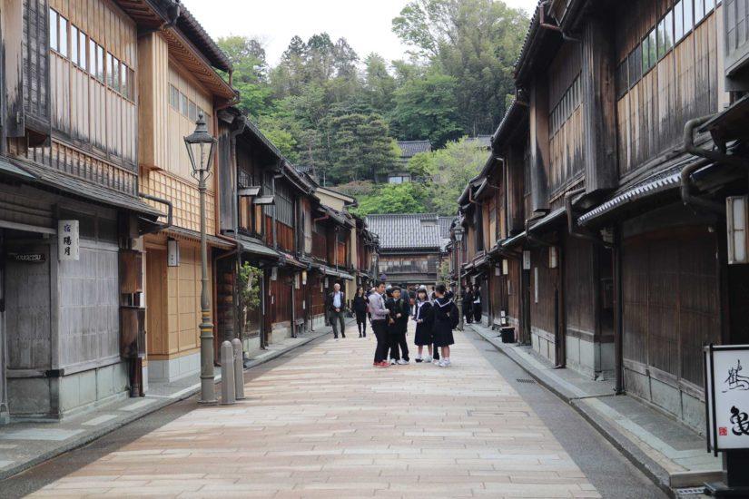 Higashi chaya gai Japon
