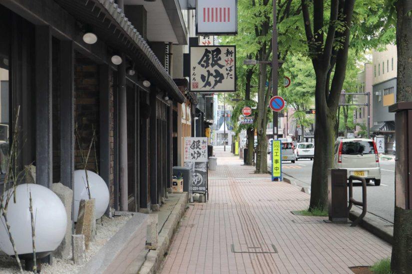 Kanazawa station area