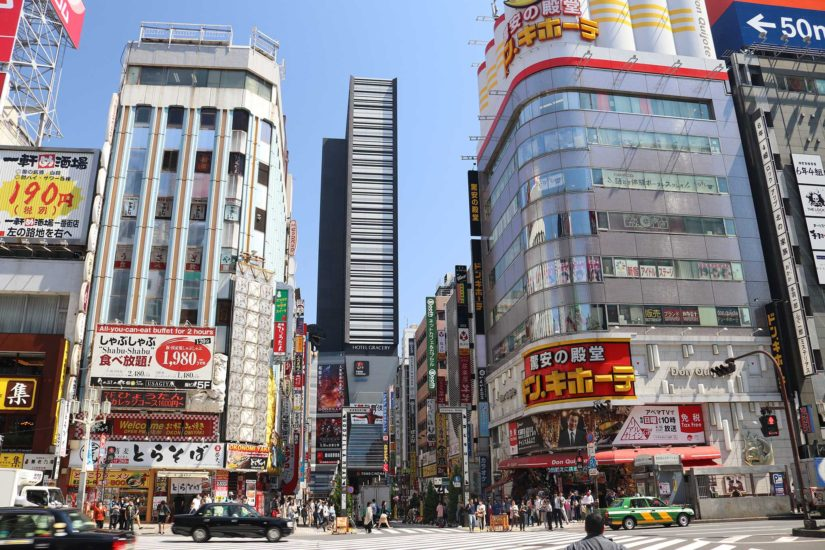 Shinjulu Japon