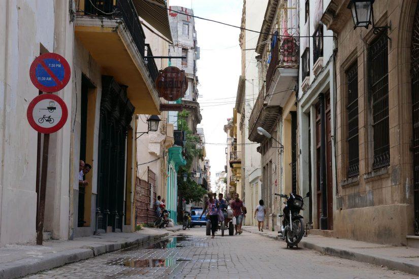 calle O'Reilly Habana Vieja