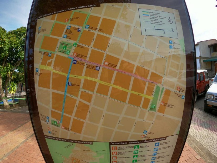 Socorro map