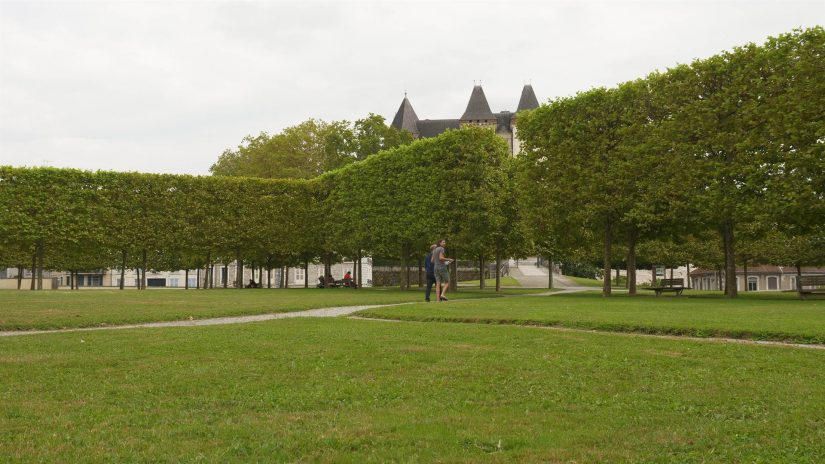 Pau - Jardins du château