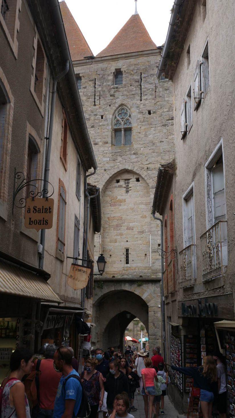ruelles de la cité de carcassonne