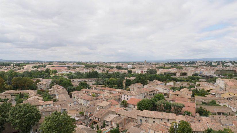 Remparts extérieurs du chateau de Carcassonne