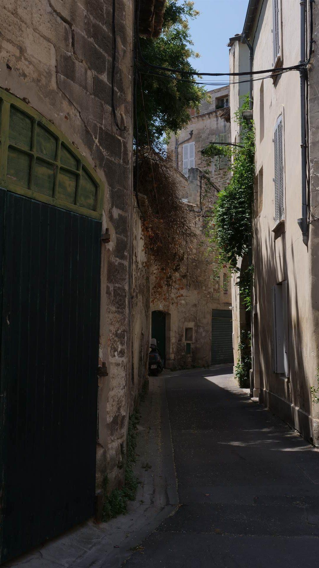rue d'antan à Avignon